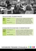 SVENDBORG TEKNISKE GYMNASIUM - Svendborg Erhvervsskole - Page 7
