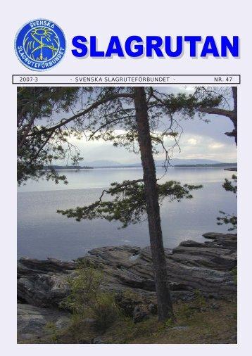 2007-3 - SVENSKA SLAGRUTEFÖRBUNDET - NR. 47