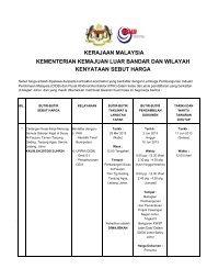kerajaan malaysia - Kementerian Kemajuan Luar Bandar Dan Wilayah