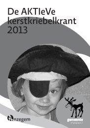 De AKTIeVe kerstkriebelkrant 2013 - Anzegem