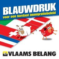 blauwdruk - Vlaams Belang