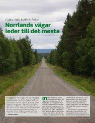 Norrlands vägar leder till det mesta
