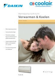 Verwarmen & Koelen - Coolair