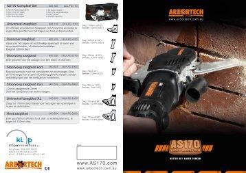 Stootvoeg zaagblad - Arbortech