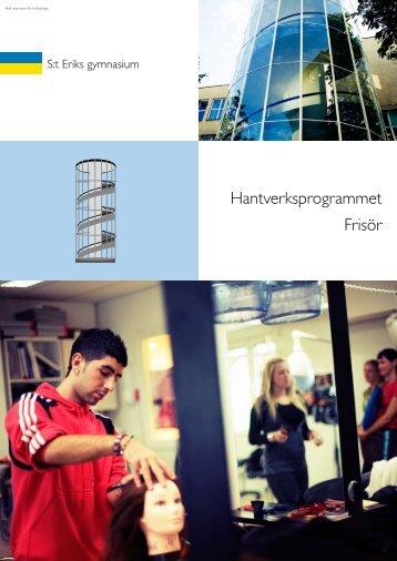Frisör - S:t Eriks gymnasium