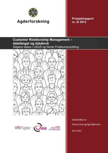 datafangst og databruk - Agderforskning AS