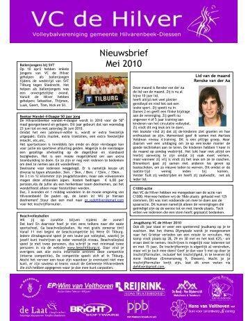 Nieuwsbrief Mei 2010 - VC de Hilver
