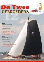 Magazine 2012 - Drachtster skutsje
