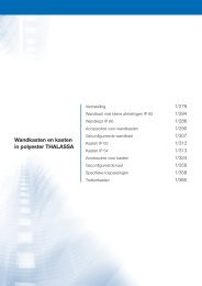 Wandkasten en kasten in polyester THALASSA - Schneider Electric