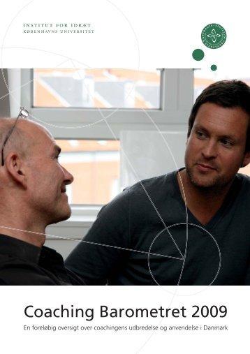 Coaching Barometret 2009 - Institut for Idræt og Ernæring ...