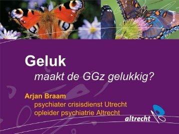 presentatie 1 Spreker - Dr. Arjan Braam (dagvoorzitter)