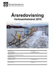 Årsredovisning 2010.pdf - Orust kommun