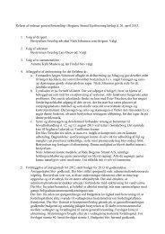 Ordinær generalforsamling 20. april 2013