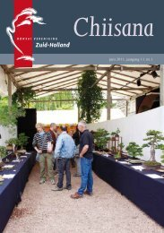ch 2011-1 - Bonsaivereniging Zuid-Holland