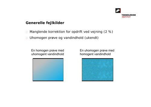Måling af vandindhold Teknologier og udfordringer Claus ... - IEO-Net