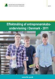 Effektmåling af entreprenørskabsundervisning 2011 - Fonden for ...