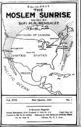 1945 - The Muslim Sunrise