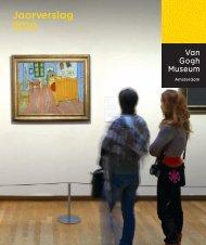 Download jaarverslag 2010 - Van Gogh Museum