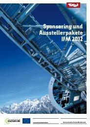 und Ausstellerpakete - Internationales Forum Mechatronik