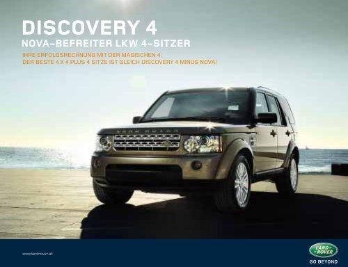 DISCOVERY 4 NOVA-BEFREITER LKW 4-SITZER - Auto Stahl