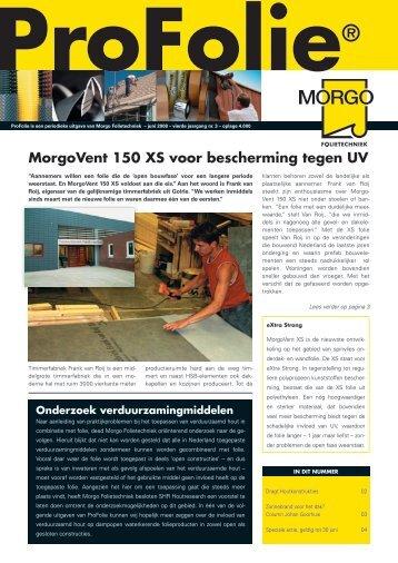 Profolie juni 2008 - Morgo Folietechniek