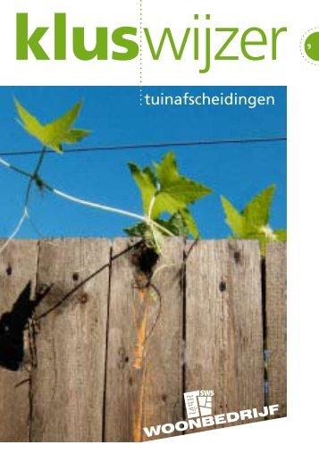 tuinafscheidingen - Woonbedrijf