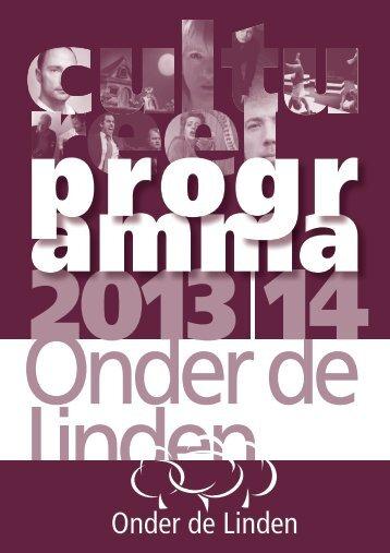 programma - Onder de Linden