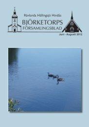 Juni 2012 - Björketorps församling