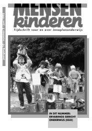 Tijdschrift voor en over Jenaplanonderwijs - Nederlandse ...