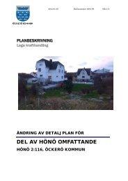 Planbeskrivning ÄDP Hönö 2_116.pdf - Öckerö kommun