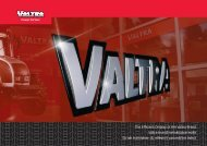 The Efficient Display of the Valtra Brand Valtra-brandi ... - Smartweb