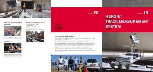 Hergie® track Measurement system