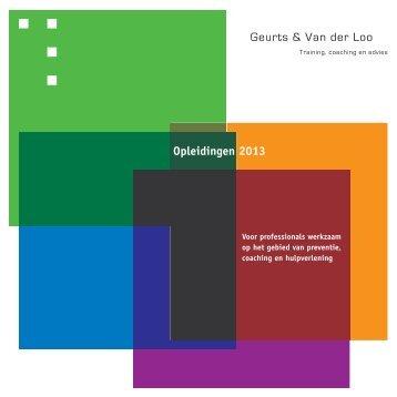Klik hier om de folder te downloaden - Geurts & Van der Loo