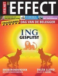 DAG VAN DE BELEGGER - VEB