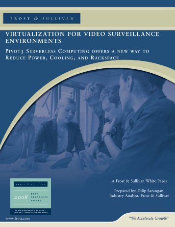 Virtualization to Video Surveillance Environments ... - Cyrus