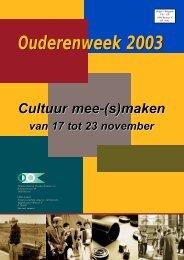 Cultuur mee-(s)maken - CultuurNet Vlaanderen