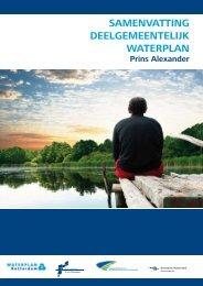 samenvatting deelgemeentelijk waterplan - Prins Alexander