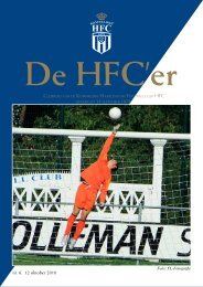 nr. 6. 12 oktober 2010 - Koninklijke HFC