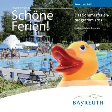 Programmheft zum Download (pdf-Datei) - Stadt Bayreuth