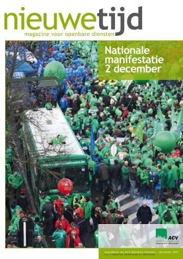20111201 Nieuwe Tijd December 2011 - Maandblad ... - acv lrb Gent