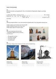 Werkblad Geschiedenis, Industrie in Nederland