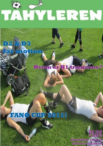 D2 & D3 får motion FANØ CUP 2011! - JAI fodbold