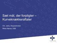 Sæt mål der forpligter - Energiforum Danmark