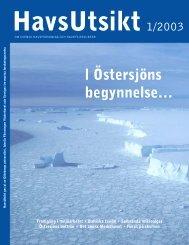 HavsUtsikt nr 1,2003 - Havet.nu