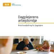 Hent Dagplejerens arbejdsmiljø - Arbejdsmiljoweb.dk