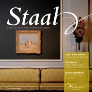 Staal magazine 2 2011 - Staalbankiers
