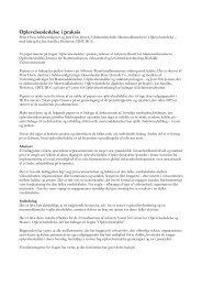 Oplevelsesledelse i praksis - Det Danske Ledelsesakademi