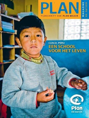 EEN SCHOOL VOOR HET LEVEN - Plan België