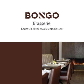 Brasserie Keuze uit 40 sfeervolle eetadressen - Bongo