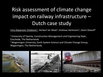 Dutch case study - European Climate Change Adaptation Conference